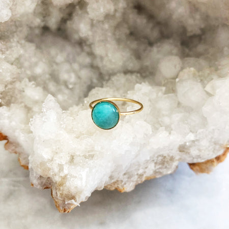 Amazonite Goldie Stacker