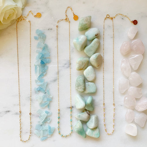 Gemstone Asa Necklace