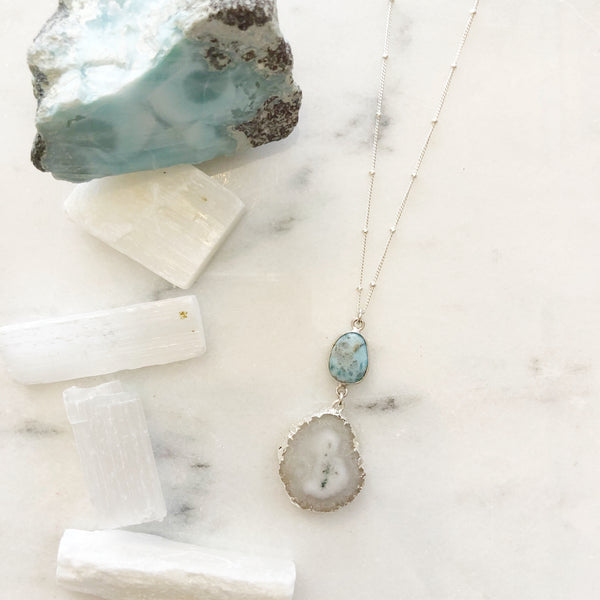 Solar Quartz Vibration Necklace