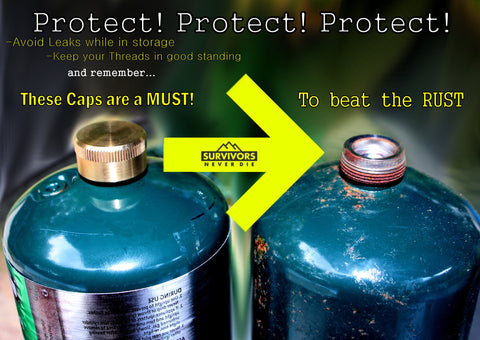 Safety Caps For Small Propane Tanks are a MUST! Let me explain