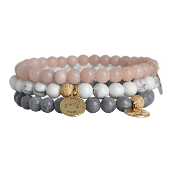 Signature Beaded Stack - Sincere