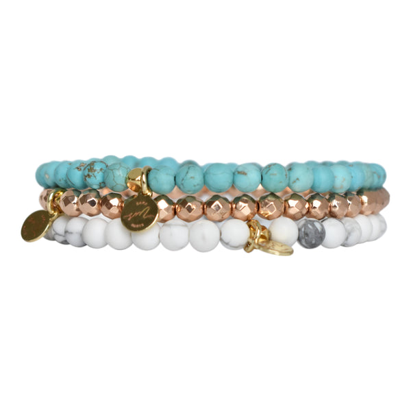 Mini Beaded Stack - Summer