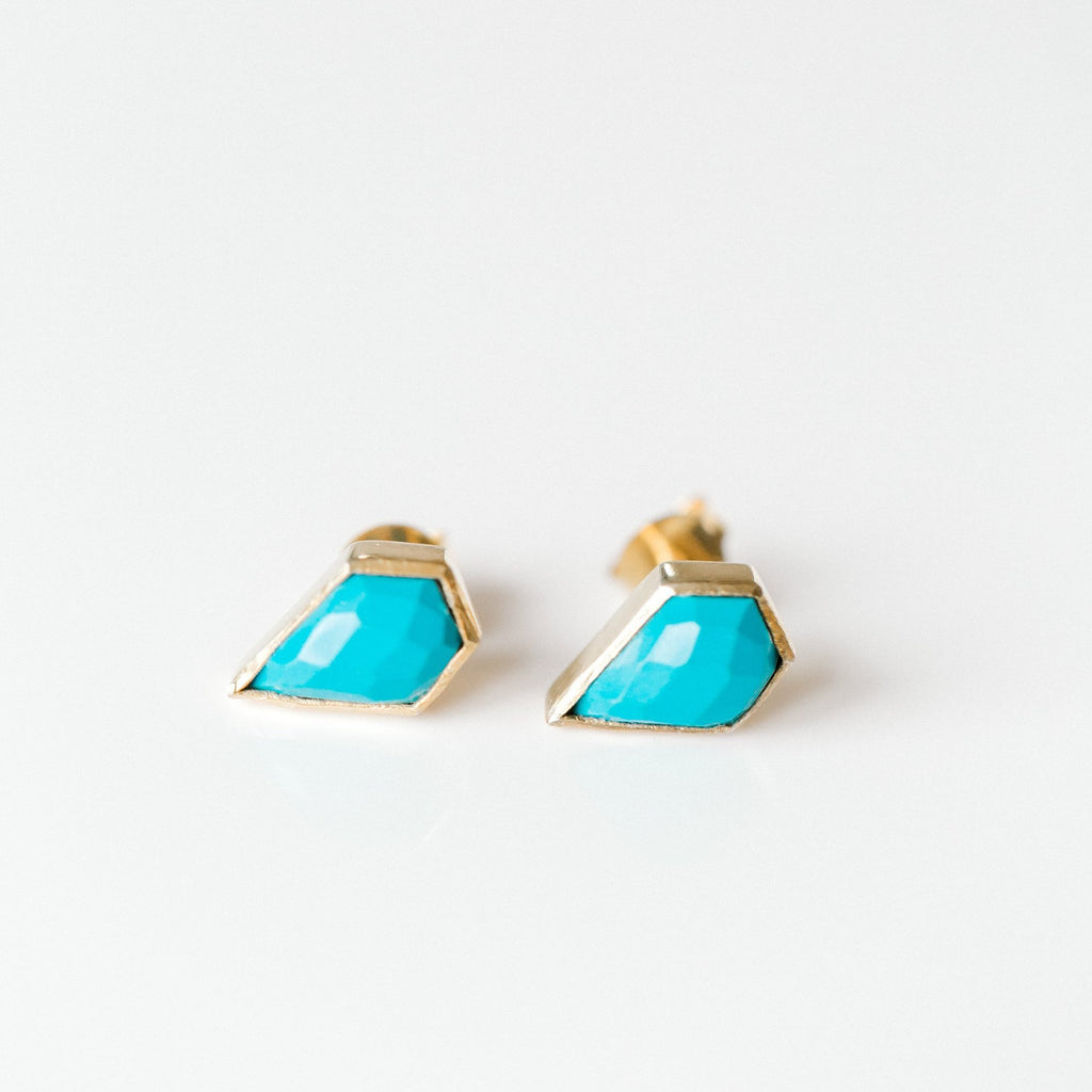 London Studs - Turquoise