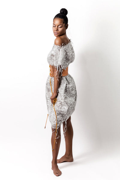 Ella Metallic Dress