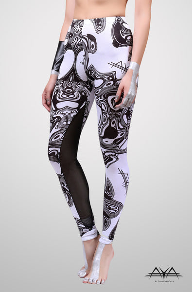 Marie Legging Printed White