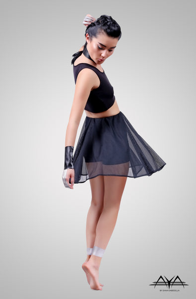 Agnes Short Skirt Noir