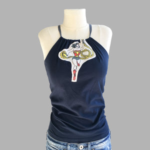 Vintage Wonder Woman Top