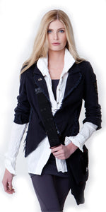 Peaceful Warrior Blazer Jacket
