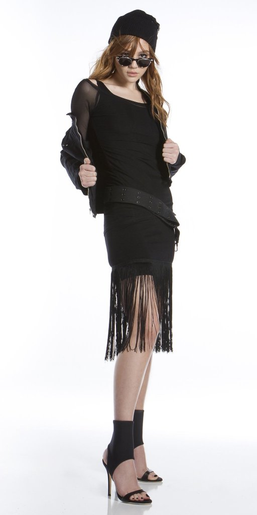 Beauty on Essex Fringed Tank Dress