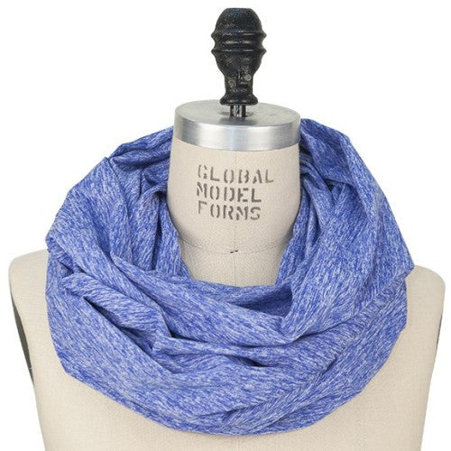 Royal Purple Infinity Scarf