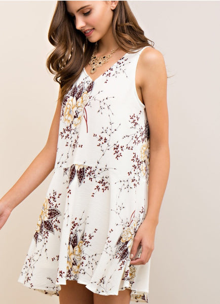 Brianna Floral Shift Dress