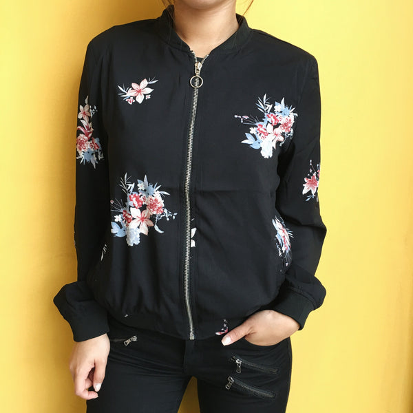 Bailey Floral Bomber Jacket