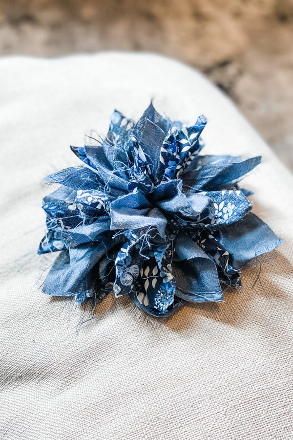 Fabric Flower Brooch | Liberty Edenham