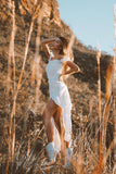 White Bohemian Maxi Dress | Sold Out | Pre-order Now
