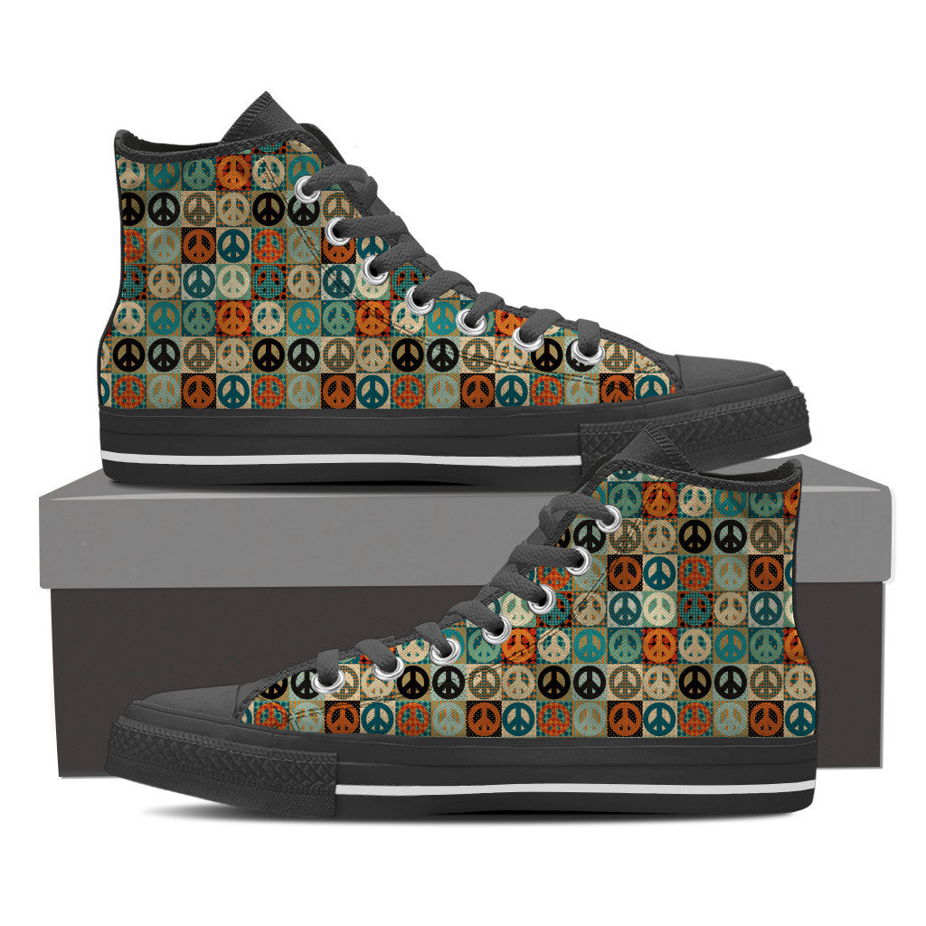 Peace Women's High Top Shoe