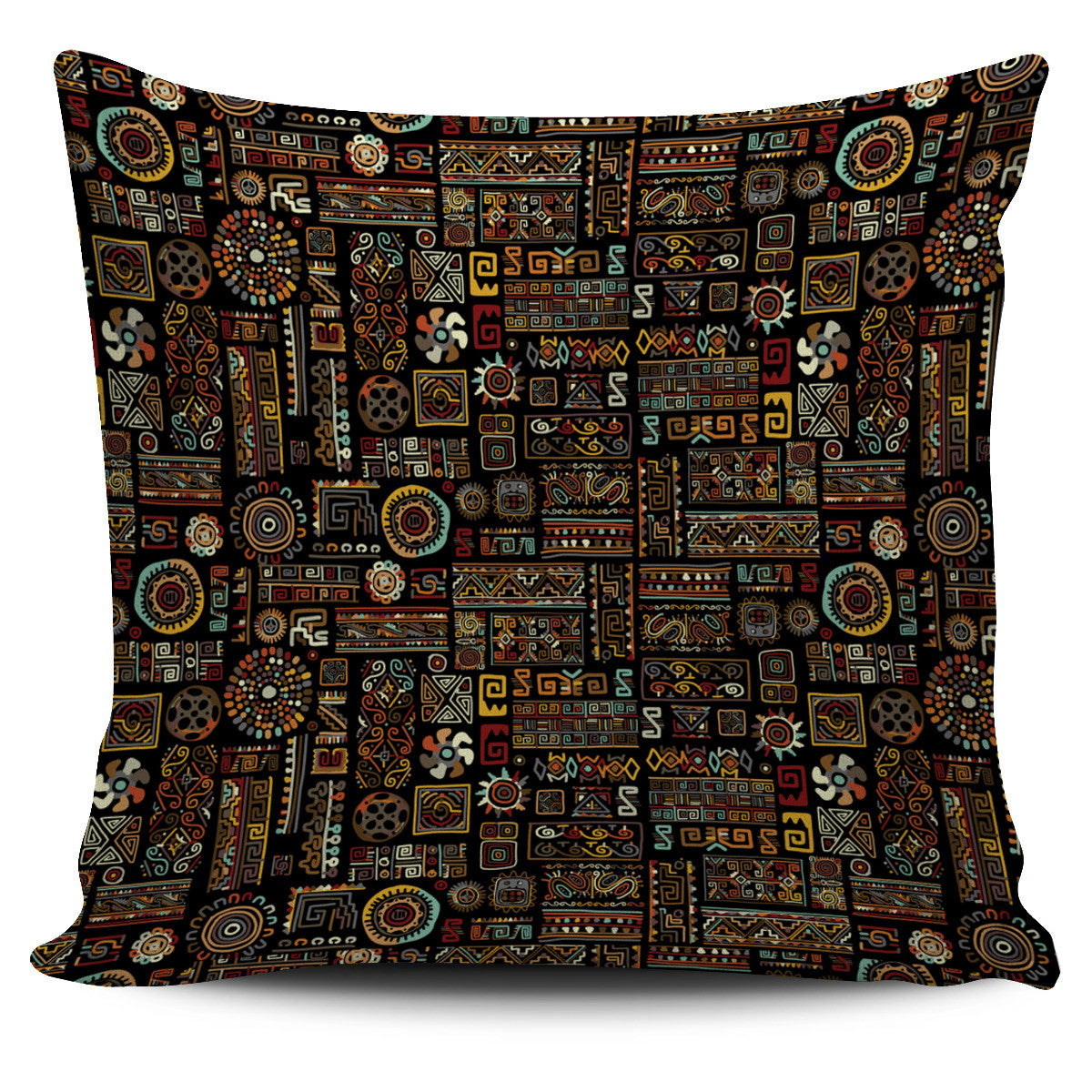 Ancient Symbols Pillow Cover