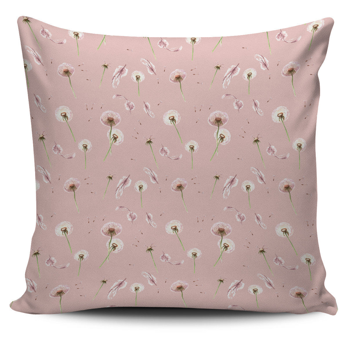 Dandelion Pillow Cover Light Denim Blue