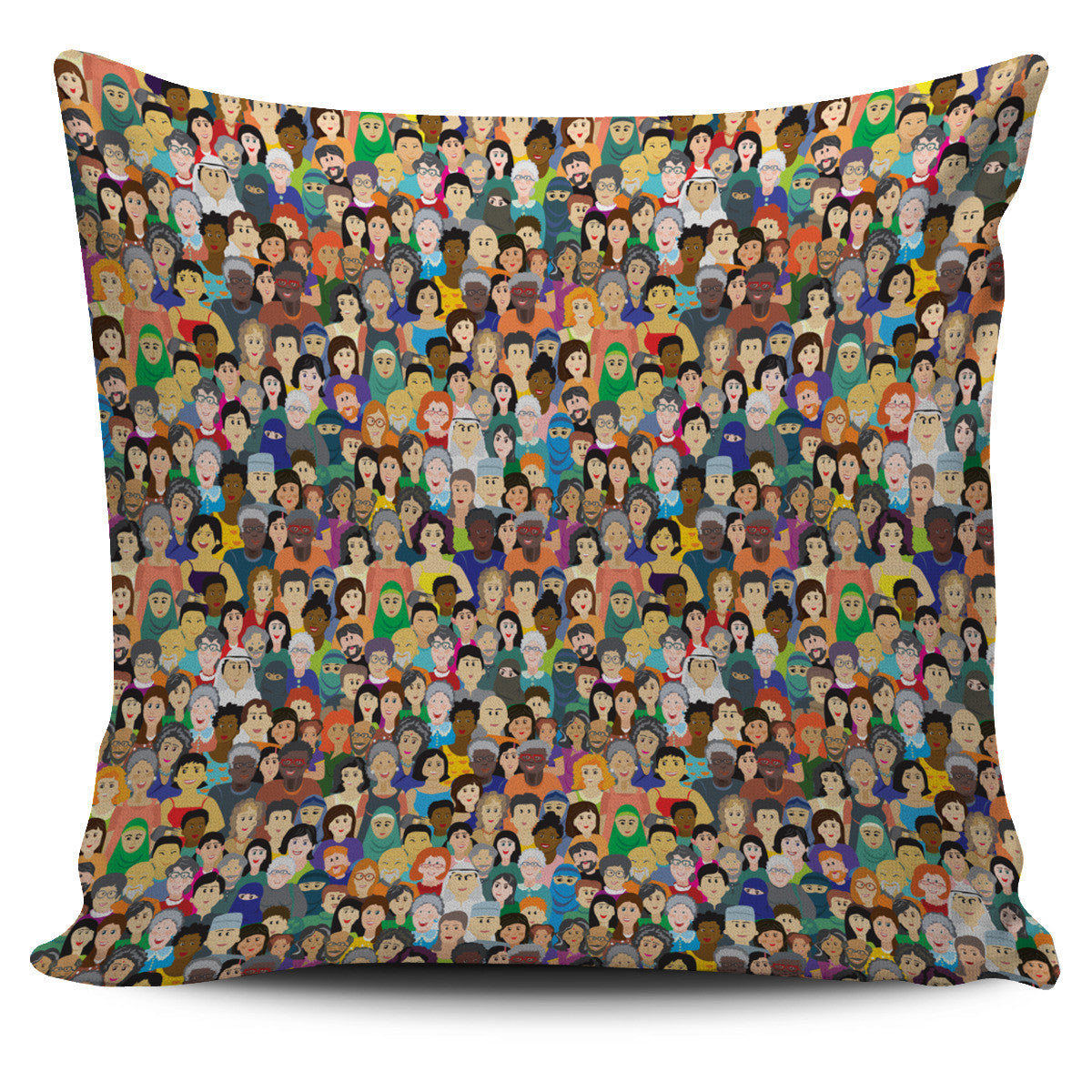 Diversity Rocks Pillow Cover