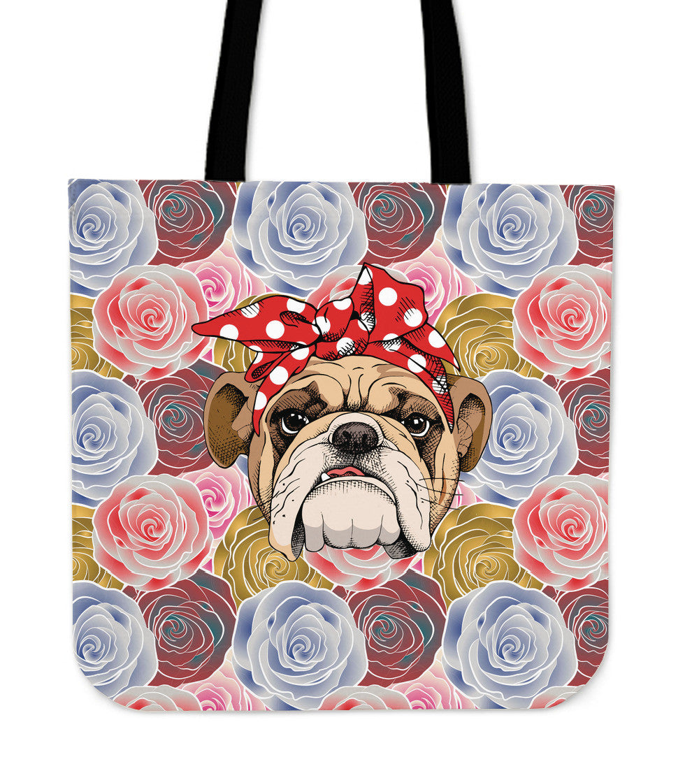 Rosey The Bulldog Tote Bag - FREE with Bulldog Shoes!