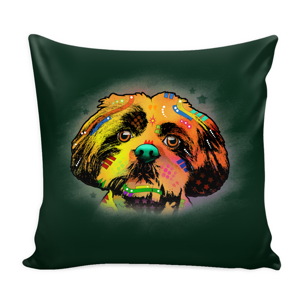 SHIHTZU Pillow Cover, Multiple Colors