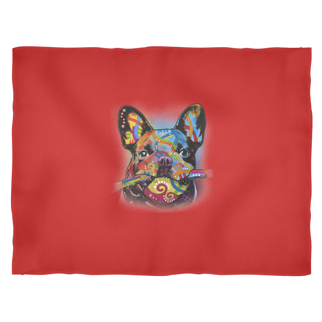 FLEECE BLANKET - FRENCH BULLDOG