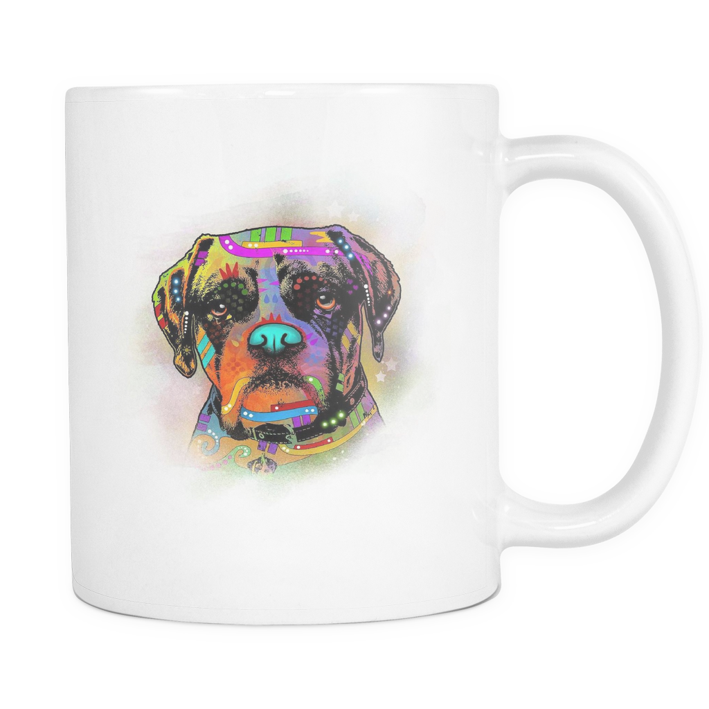 BOXER 11 oz White Mug