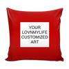 CUSTOM ART Pillow Cover - Multi Colors