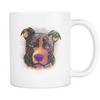 PITBULL 11 oz White Mug