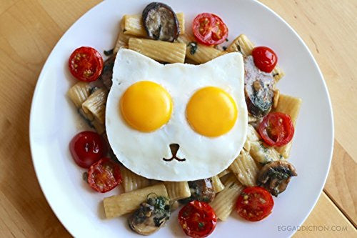 Owl Or Cat Egg Mold - Funny Side Up