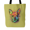 CHIHUAHUA  Tote Bag, Multi- Colors