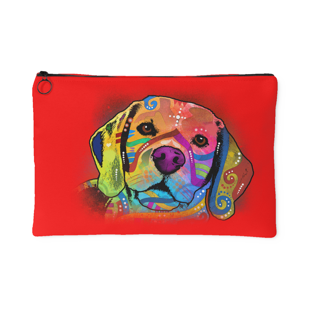BEAGLE Red Accessory Pouch