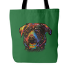 CHOCOLATE LABRADOR Tote Bag, Multiple Colors