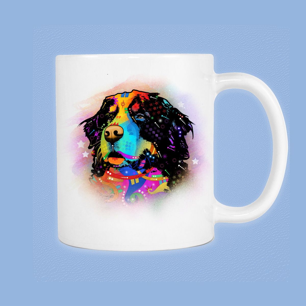 BERNESE MOUNTAIN DOG 11oz White Mug