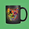 CORGI 11oz Black Mug