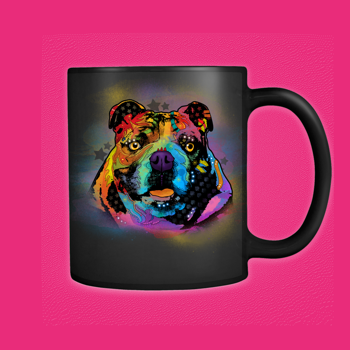 ENGLISH BULLDOG 11oz White Mug