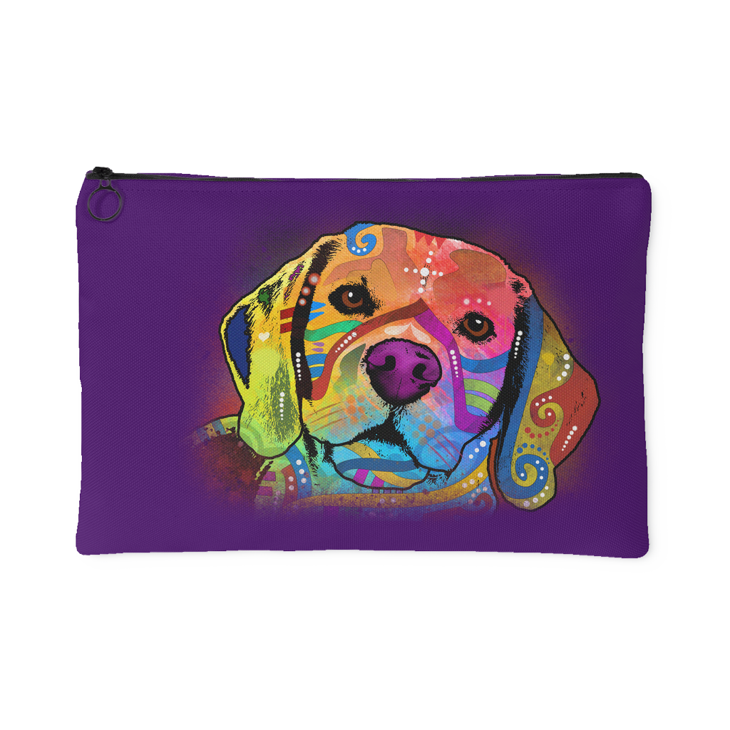BEAGLE Purple Accessory Pouch