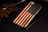 American Flag ShockProof Back Protective Cover - iPhone 6/6s