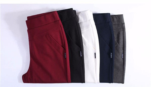 Pencil Pant Leggings - S-3XL, 5 Colors