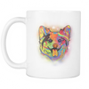 CORGI 11 oz White Mug