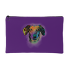 DACHSHUND Accessory Pouch, Royal Purple