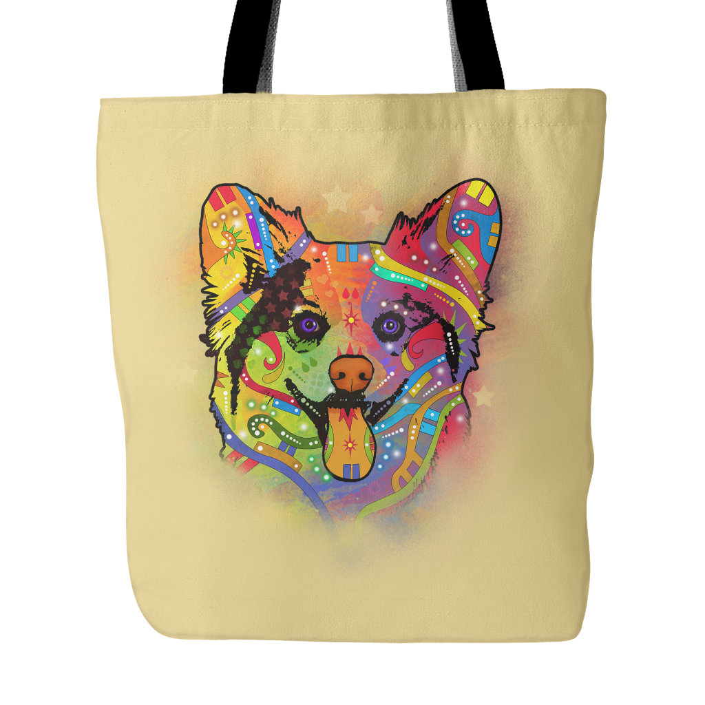 CORGI Tote Bag, Multi-Colors
