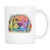 BEAGLE 11oz White Mug