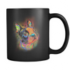 BOSTON TERRIER 11oz Black Mug