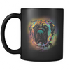 ENGLISH MASTIFF 11 oz Black Mug
