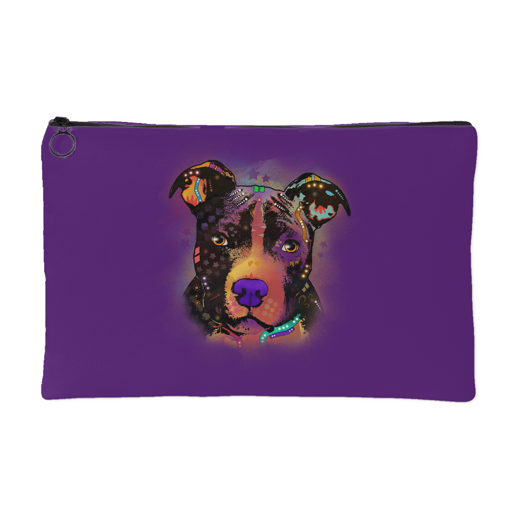 PITBULL Accessory Pouch, Royal Purple