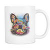 FRENCH BULLDOG 11oz White Mug