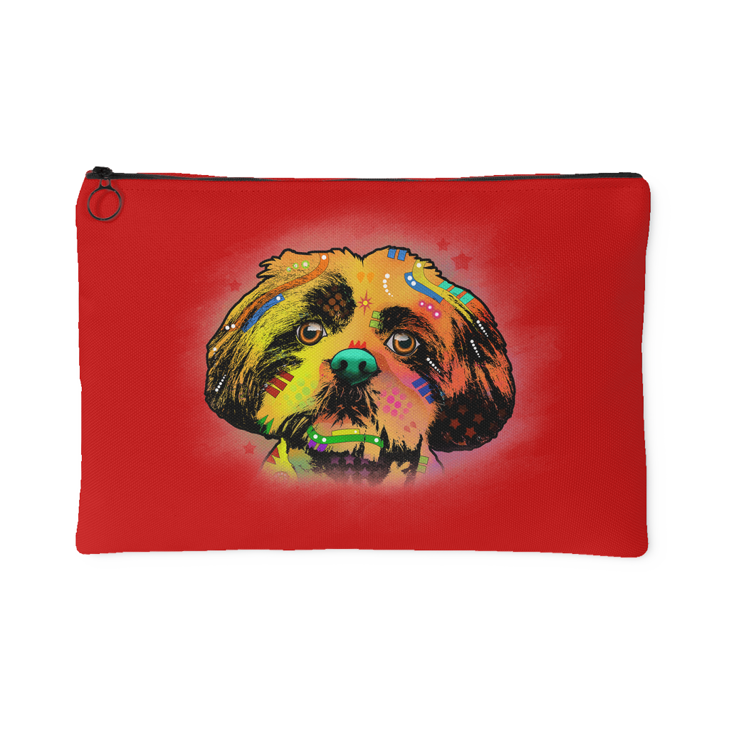 SHIHTZU Accessory Pouch, Red