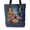 FRENCH BULLDOG Lover Tote Bag, Multi-Colors