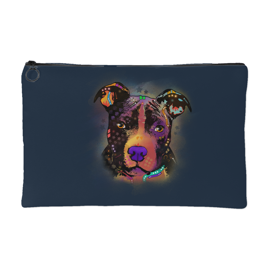 PITBULL Accessory Pouch, Navy
