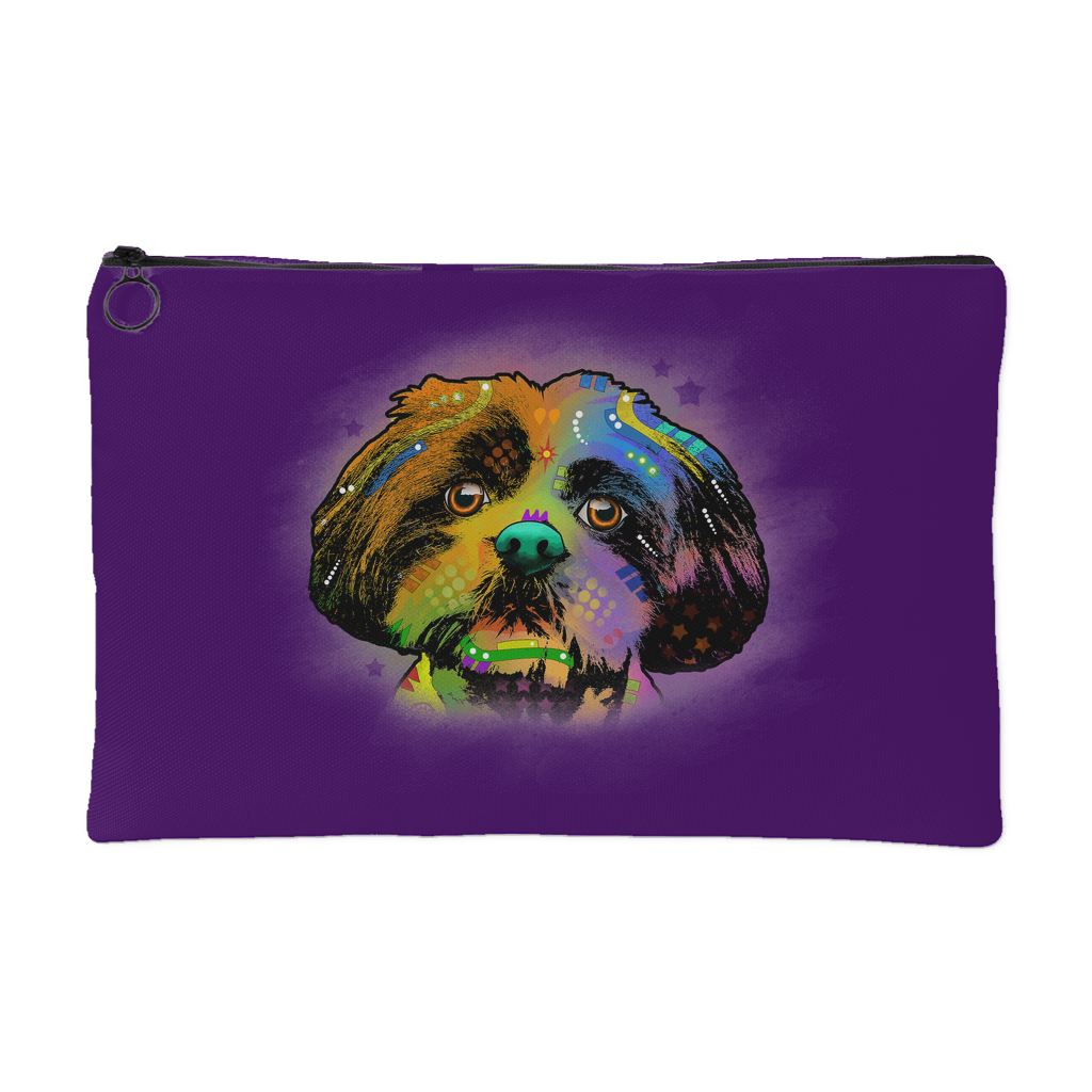 SHIHTZUE ACCESSORY POUCH, PURPLE